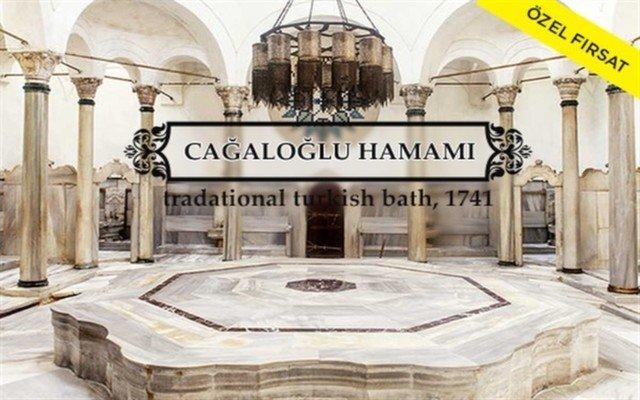 300 Yıllık Tarihi Cağaloğlu Hamamı'nda Masaj ve Hamam Sefası!